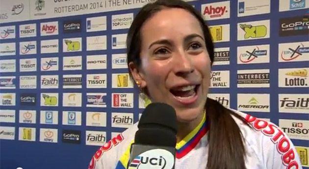 Mariana Pajón gana oro en Mundial de BMX