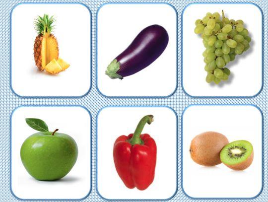 Loto et memory fruits et legumes - Le jardin d'Alysse