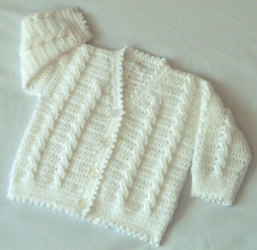 Baby/Childs Cardigan Patt No.95 pattern by Kay Jones