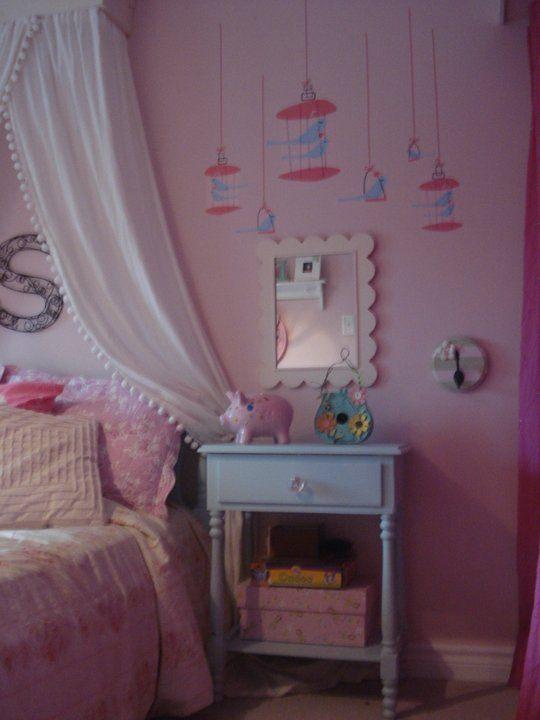 Sophie's Pink & Aqua Bedroom