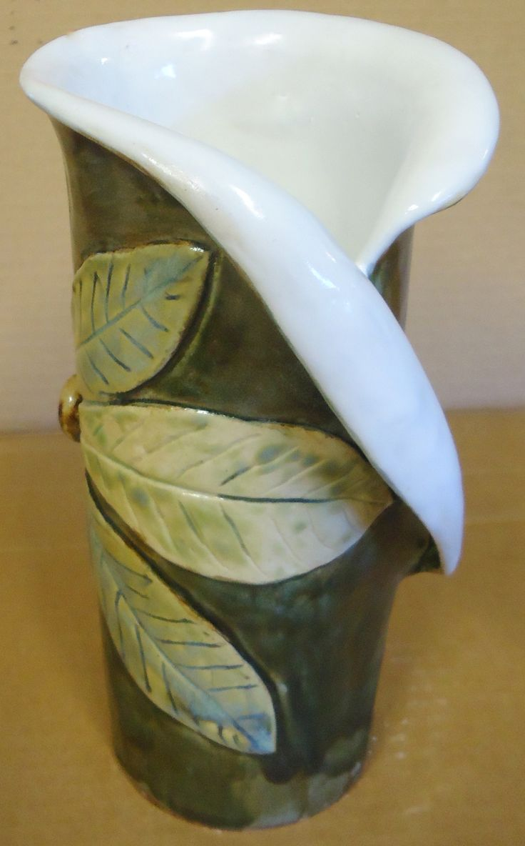 Hand Built Magnolia Vase Michael Macdonald 2012 Just