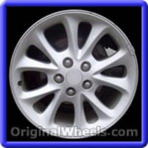 Chrysler 300M 1999 Wheels & Rims Hollander #2115B  #Chrysler #300 #Chrysler300M #1999 #Wheels #Rims #Stock #Factory #Original #OEM #OE #Steel #Alloy #Used