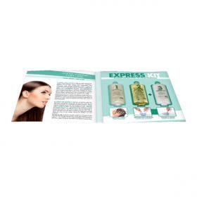 ING Express Kit - Αντιγηραντική Θεραπεία Μαλλιών Βαθιάς Αναδόμησης Μία θεραπεία μαλλιών η οποία προλαμβάνει την γήρανση της τρίχας και την αναδομεί σε βάθος. Η συσκευασία περιλαμβάνει 3 προϊόντα: Treated Shampoo, Anti-age Reconstruction Oil, Activator. Ουσιαστικά η συγκεκριμένη θεραπεία είναι η αναβάθμιση του RECONSTRUCTIVE OIL.ΑΝΑΛΥΤΙΚΑ στο www.femme-fatale.gr.Τιμή €3.00