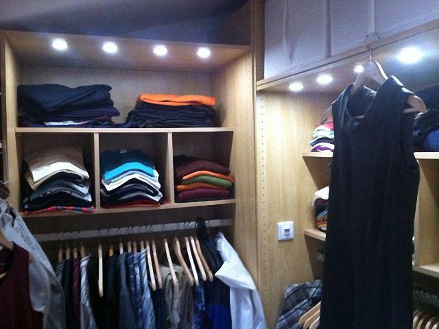 освещение гардероба с датчиком движения фото