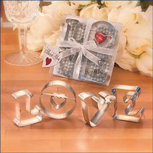 love cookie cutters favor find this pin and more on weddings