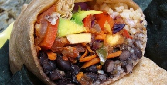 Plant Based Diet Recipes Whole Wheat Veggie Burrito