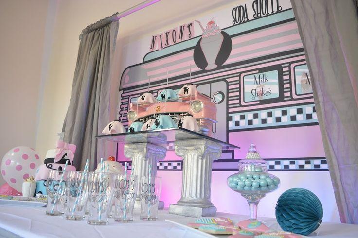 soda shoppe birthday party ideas