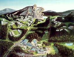 This is the vision for the final  look at Crazy Horse