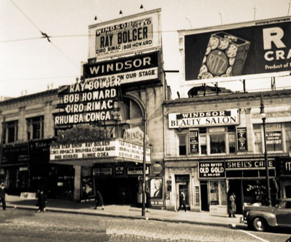 the bronx early 1950 | Windsor Theatre in Bronx, NY - Cinema Treasures