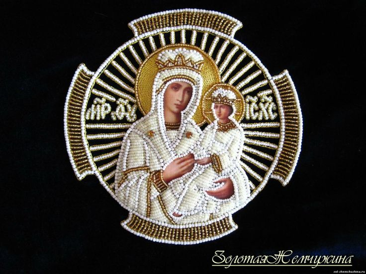 Russian ecclesiastical embroidery - by Father Ignaty