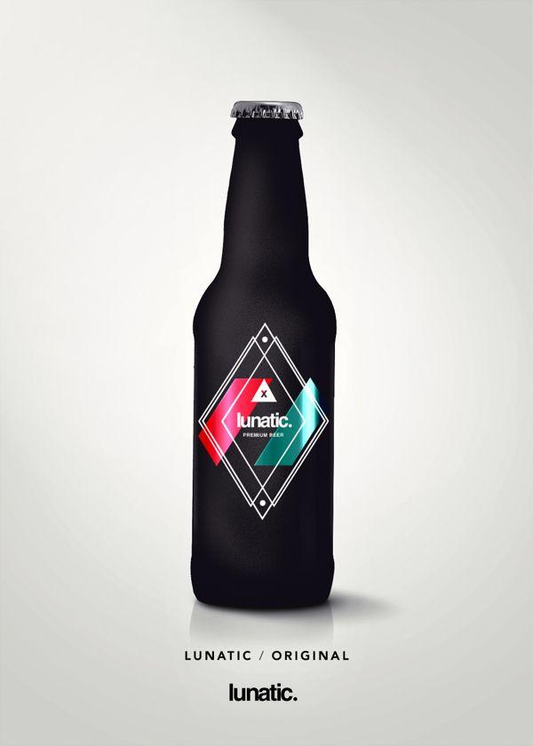 Awesome beer bottle branding