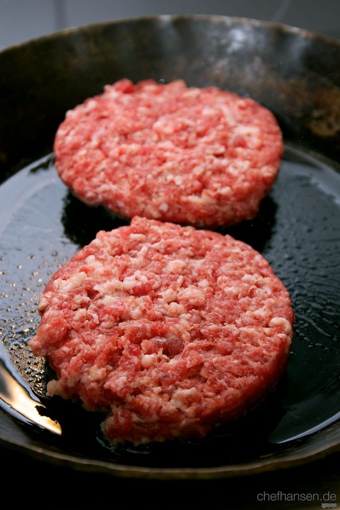 Burger Patties Braten