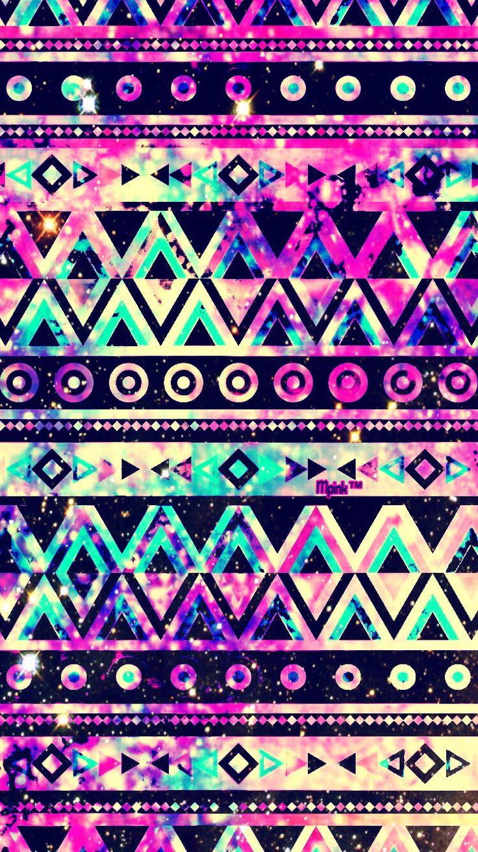 Aztec Tribal Design Galaxy Wallpaper #androidwallpaper # ...