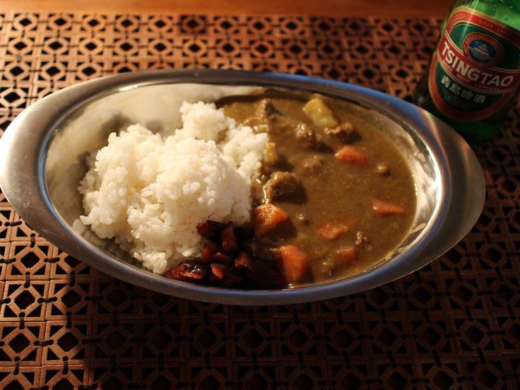Hausgemachtes japanisches Curry