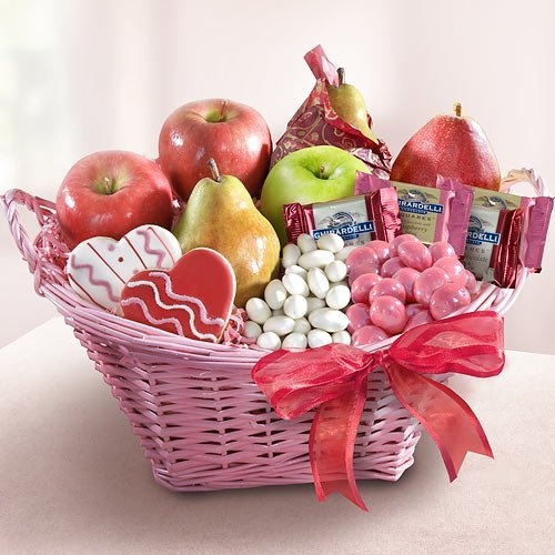 send a fruit basket healthy canned fruit
