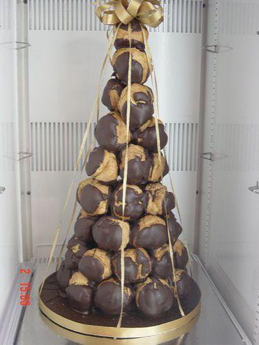 chocolate profiterole tower - Google Search