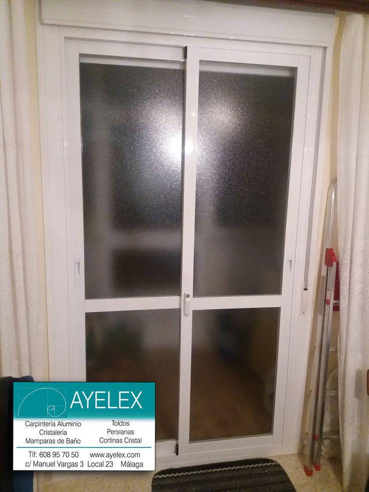 M s de 1000 ideas sobre puertas de aluminio en pinterest ventanas de aluminio puertas de - Persianas blindadas ...