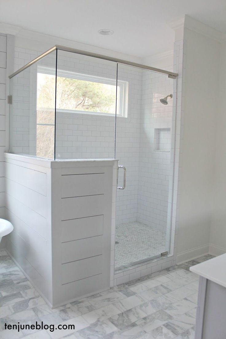 best 25 bathroom shower enclosures ideas only on pinterest shower enclosure ten june the farmhouse a tour of the master bathroom