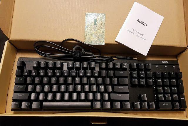 Mechanische Gaming Tastatur von Aukey im Test  http://www.mihaela-testfamily.de  #Aukey #Tastatur #Gaming #mechanischeTastatur