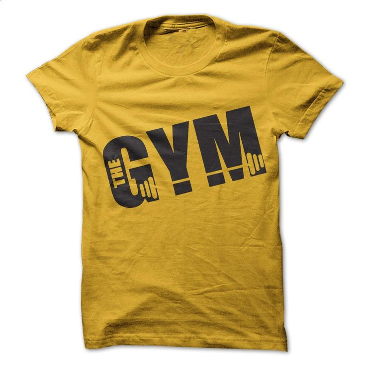 The Gym T Shirts, Hoodies, Sweatshirts - #tee shirt #design tshirts. BUY NOW => https://www.sunfrog.com/Fitness/The-Gym.html?60505