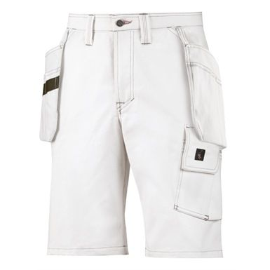 These Snickers 3075 Painters Holster Pocket Shorts are both rugged and comfortable. They offer excellent range of movement with a twisted leg design and advanced cut. They also come fully packed with pockets. Practical, stylish and designed to keep you cool & comfortable in the summer months.