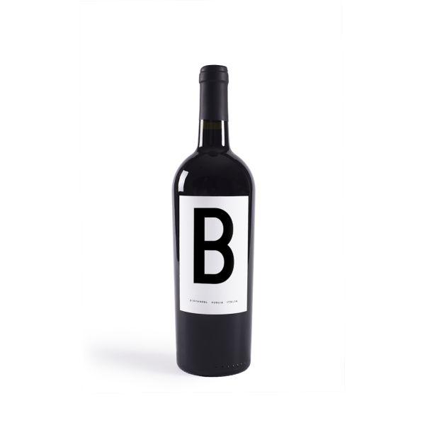wine red packaging zinfandel italy minimal design