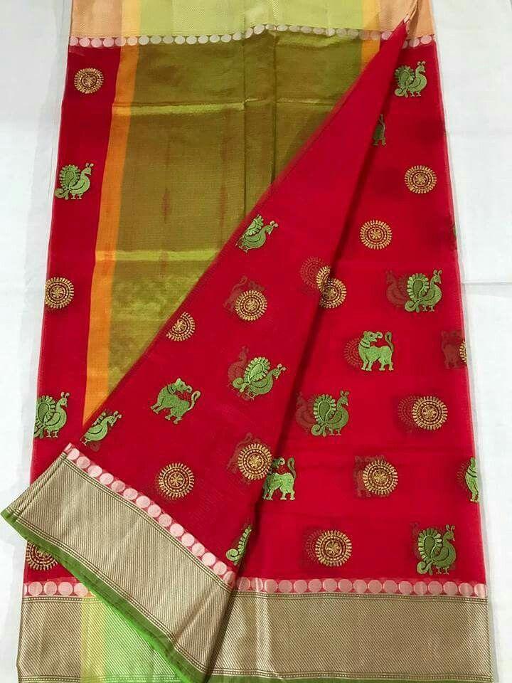 Pure kotasilk Sarees with jumka embroidery design @3850 Order what's app 7995736811