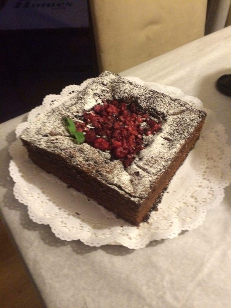 Brownie full chocolate Bitter