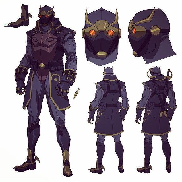 Talon warrior from Batman vs Robin