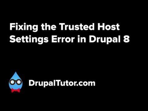 Vamos a ver como solucionar la advertencia que añade Drupal 8 para que no te dupliquen el sitio. Visita http://drupalalsur.org/videos/solucionar-la-advertenc...