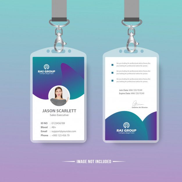 Id Card Temolate Free Printable Business Cards Colorful Business Card Business Card Design Creative