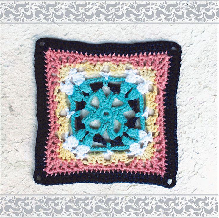 Moroccan crochet square #5   Vrouekeur