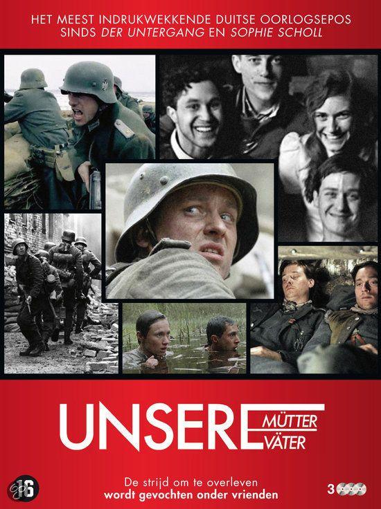 Unsere Mutter Unsere Vater. De 2e Wereldoorlog bekeken door de ogen van 5 Duitse vrienden. Een serie die voor mij nieuwe perspectieven toonde.