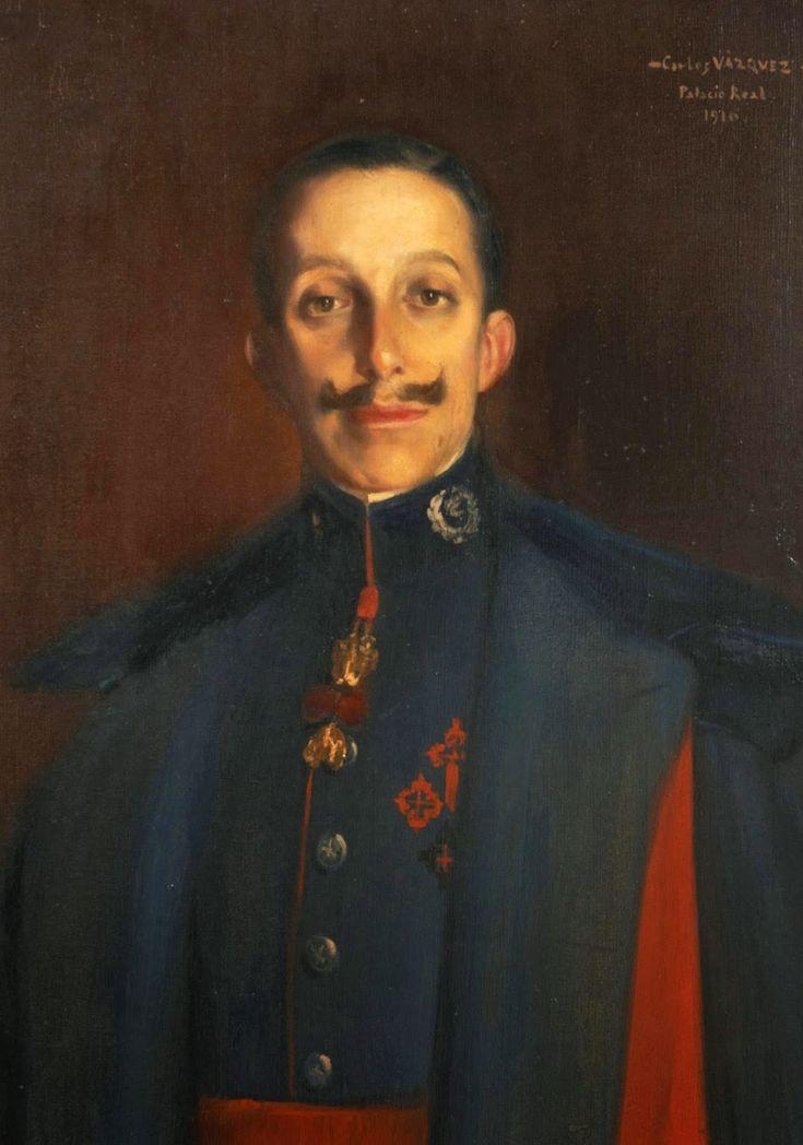 Carlos Vazquez Úbeda, Alfonso XIII. | Pintores españoles ...