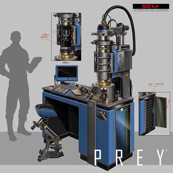 PREY - Prop designs series #1, Fred Augis on ArtStation at https://www.artstation.com/artwork/RZDEW