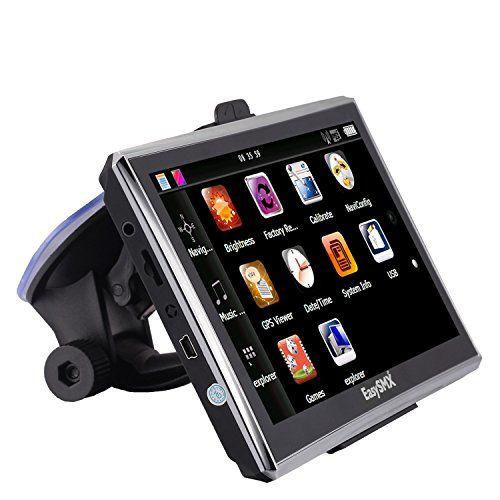 EasySMX [7» Pouces GPS Auto 8G RAM 128MB] GPS Navigation avec Pre-loaded Carte-WinCE6.0-1500mah-Multi-languages TFT LCD MTK MS2531 Europe…