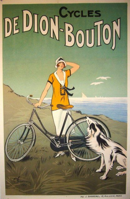 Vintage French Cycling Poster