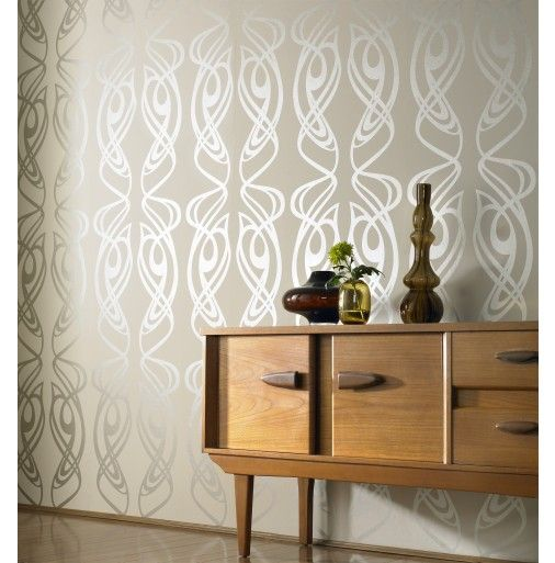 Bedroom accent wall new condo pinterest oysters for Brown bedroom wallpaper