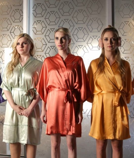 The Chanels ❤ 💚💛. Kimono RobeScream Queens