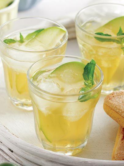 Elmalı soğuk çay