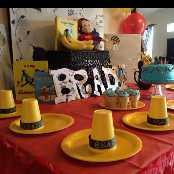 Curious George party & 72 best Curious George images on Pinterest | Birthdays Bricolage ...