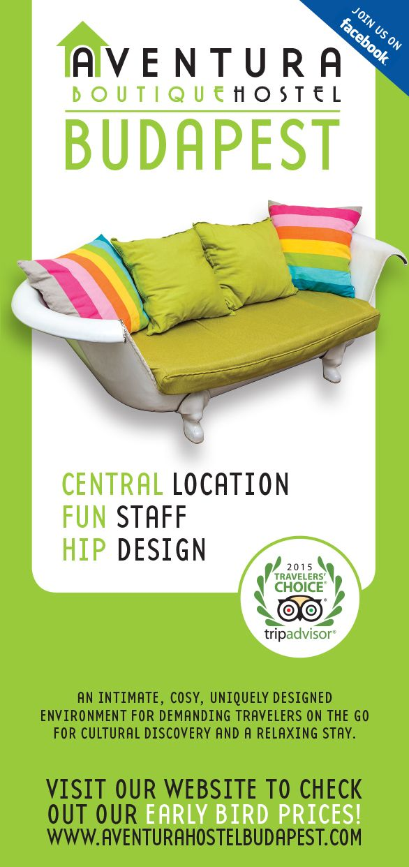Award winning, small, family run design hostel offering three dormitory rooms, one double and 