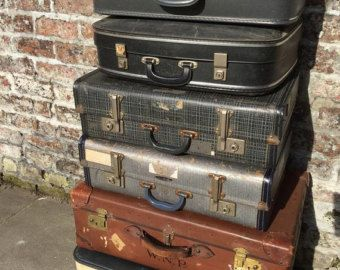 17 Best Images About Vintage Luggage Cases Suitcases