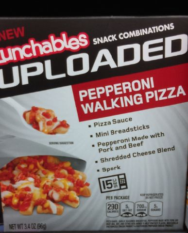 Lunchables Pepperoni Walking Pizza