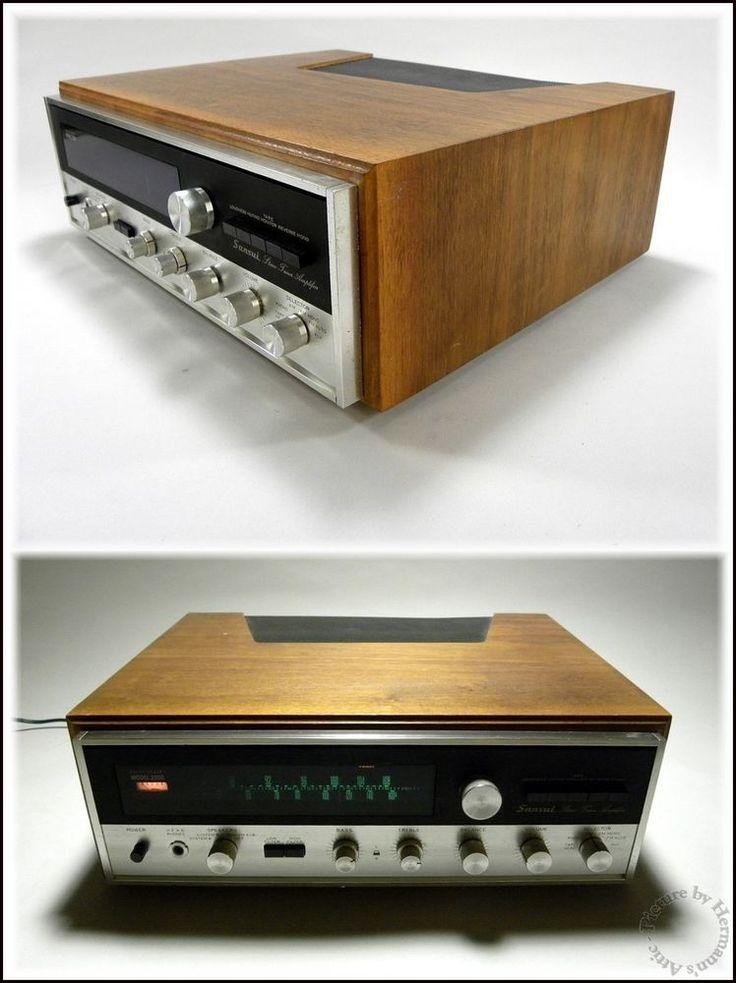1960 S Vintage Sansui Solid State Model 2000 Hi Fi Stereo