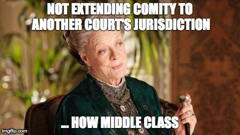 Let's talk about coordination between courts and tribunals: MOX Plant case?