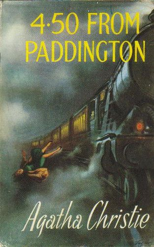 Agatha Christie, 4.50 from Paddington, London: The Book Club, 1959. Jacket illustration signed: Taylor.