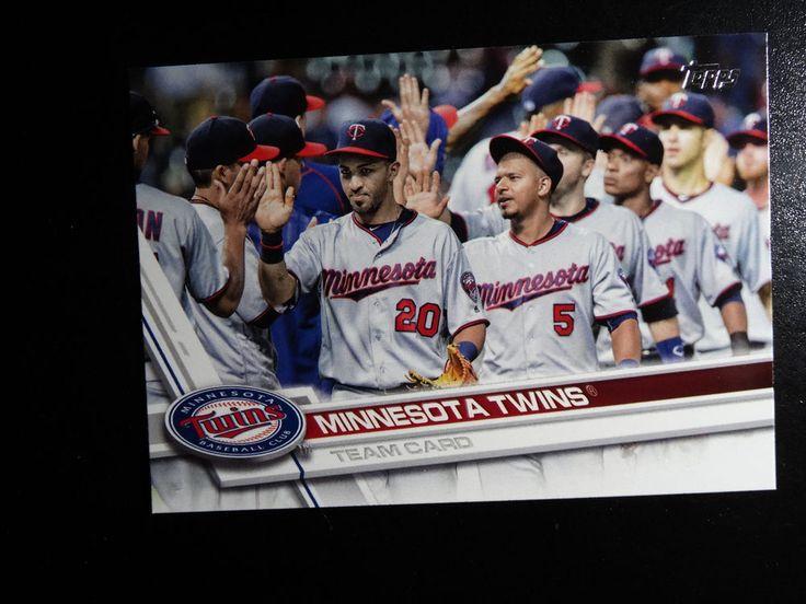 2017 Topps Series 1 #304 Minnesota Twins Team Card Baseball Card #Topps #MinnesotaTwins