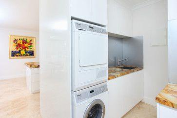 Kitchen Renovation, Wavell Heights Brisbane - modern - Laundry Room - Brisbane - Divine Bathroom Kitchen Laundry
