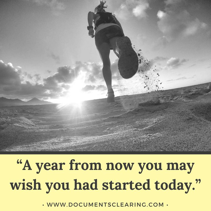 "Achieving Goals Quotes: Quotes In Achieving Goals: ""A Year From Now You May Wish"